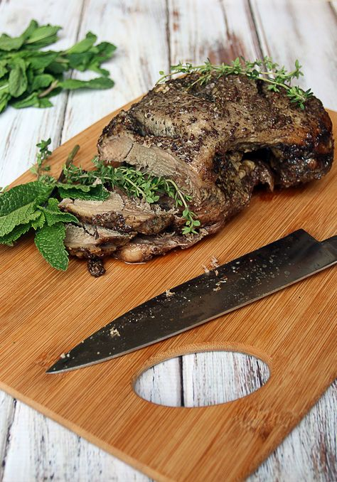 Succulent Slow Cooked Lamb