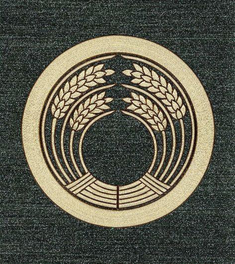 水引家紋画像 丸に抱稲紋