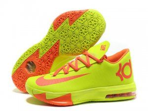 Nike Zoom KD 6 Volt Orange Shoes Sale at low price. Get the high quality