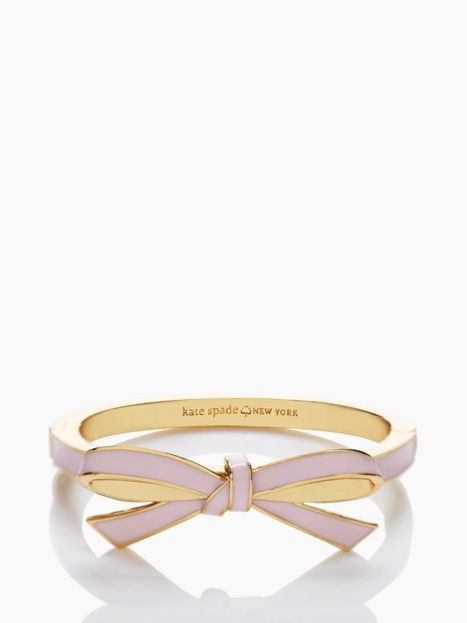 bow hinged bangle