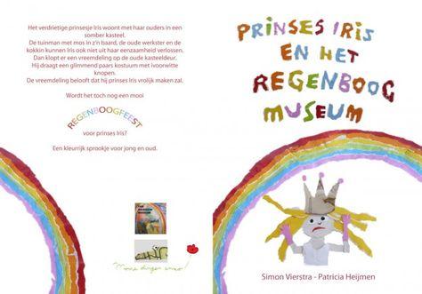 Prinses Iris en Het Regenboogmuseum. Kaft van de tweede versie, 2014.