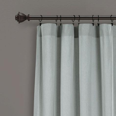Lush Decor Linen Button 72 X 72 Shower Curtain Reviews Shower Curtains Bed Bath Macy S Lush Decor Curtains Shower Curtain