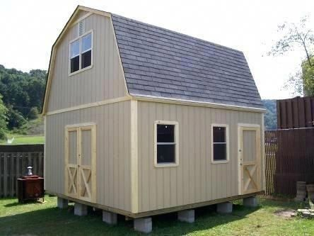 2 Story Shed Kits 2 Story Shed Home Depot 2 Story Wood Shed Kits Yes But Diff Color Shedkits Buildashedkit Wood Shed Plans Shed Shed Homes