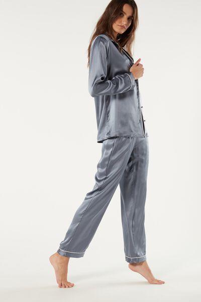 Pantaloni Pigiama Donna Biancheria da Notte Ragazza Sleepwear-Pant Pantalone Lunghi Pantaloni da Notte Pigiami Donne