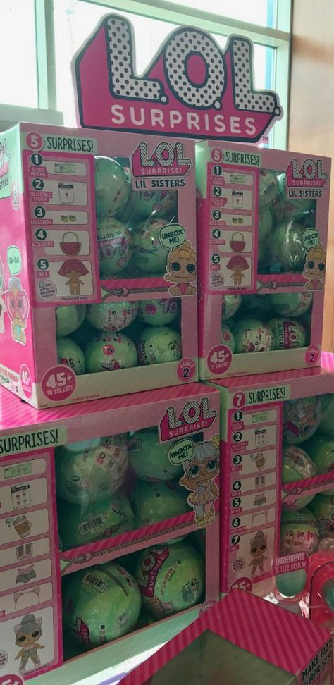 The LOL Surprise dolls are really cute very small dolls that come with lots of accessories in a cute ball shape!