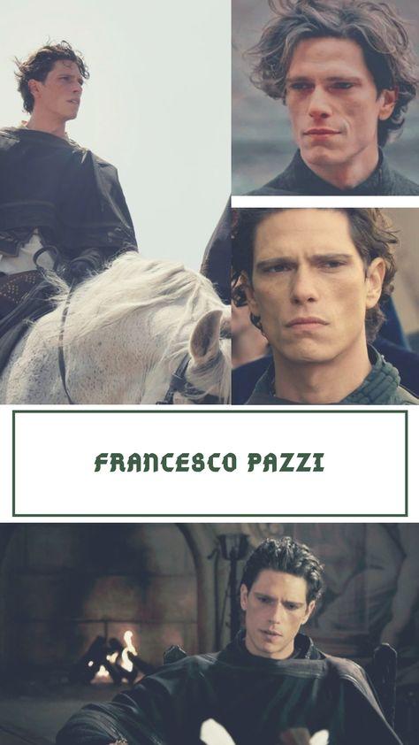 Matteo Martari is Francesco Pazzi