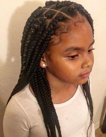 21 Cute Hairstyles For Black Teenage Girl With Natural Hair Girls Hairstyles Braids Teenage Hairstyles Braids For Black Hair