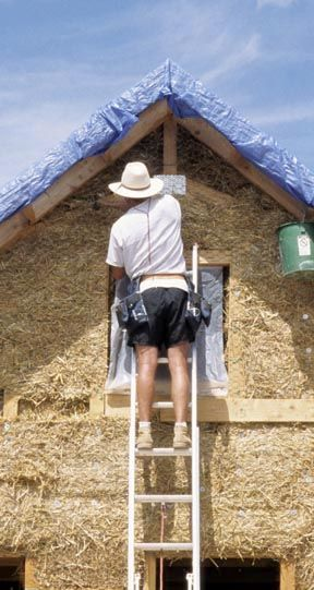 Building a straw bale home guidebook