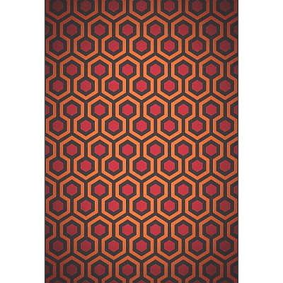 The Shining Poster 24x36 In Overlook Hotel Carpet Pattern 61x90 Cm