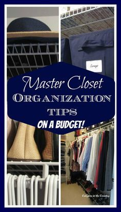 Inexpensive tips to organize a closet - #organization #organizing #organizingtips #closetorganizing #organizingideas #newyearsresolutions