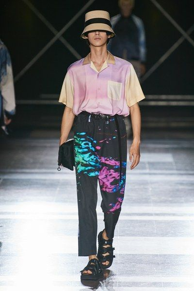 Fumito Ganryu Spring 2020 Menswear Fashion Show - Men's style, accessories, mens fashion trends 2020