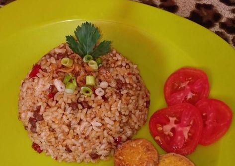 Resep Nasi Goreng Kornet Oleh Septantina Dewi Resep Resep Daging Kambing Nasi