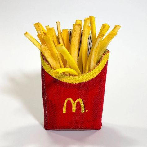 Felt and Embroidery McDonald's French Fries