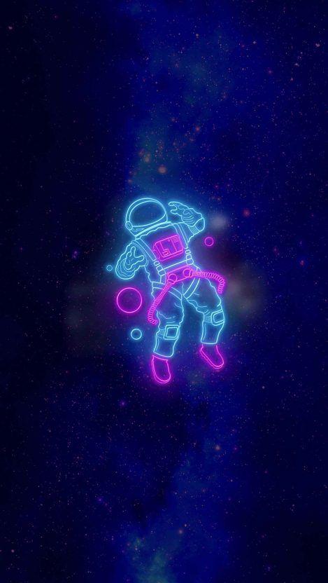 Space Neon Iphone Wallpaper Astronaut Wallpaper Wallpaper Iphone Neon Neon Wallpaper Iphone best neon wallpapers