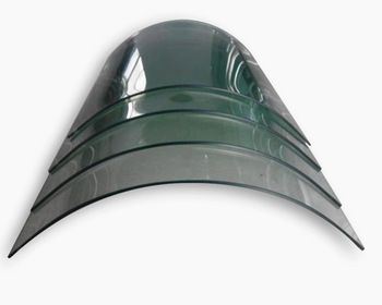 China 8mm Thickness Hot Heat Stengthed Curved Glass Curved Glass Tempered Glass Tempered Glass Door