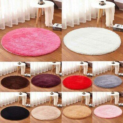 Sponsored Link Round Fluffy Rug Carpet Non Slip Area Rugs