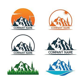 Montanha Logotipo Modelo Vector Icone Logo Icones Icones De Montanha Imagem Png E Vetor Para Download Gratuito Ilustrasi Ikon Adobe Illustrator Ilustrasi