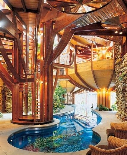 Organic Architecture home of Steve Skilen by architect Bart Prince on modular design homes, prairie style design homes, green design homes, spain design homes, frank lloyd wright design homes, solar design homes, art deco design homes,