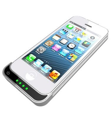 Super-Slim iPhone 5 Extended-Battery Case - Add Hours To Your Batter Life.