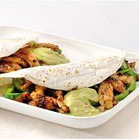 Recept - Kipfajita met romige guacamole - Allerhande