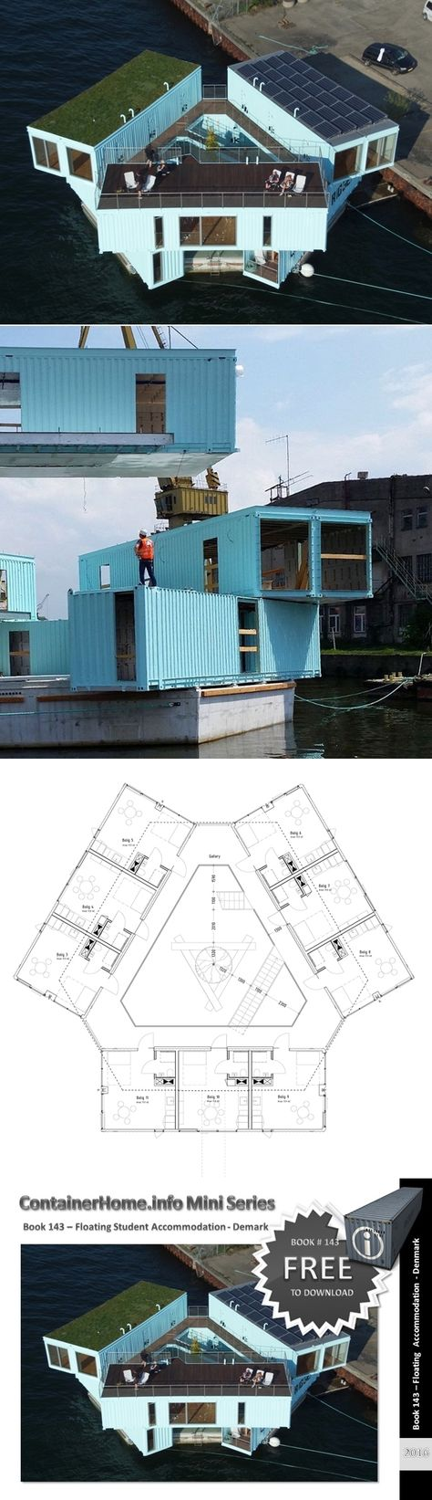 200 best Container City images on Pinterest | Shipping containers ...