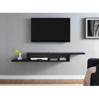 Moats Floating Tv Stand For Tvs Up To 65 Inches En 2020 Deco