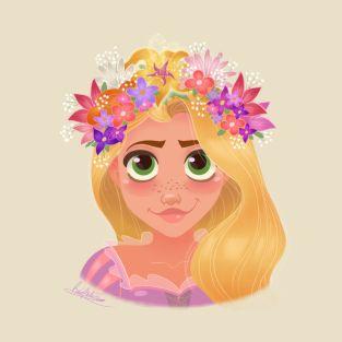Rupunzel - Flower Crown by princessbeautycase