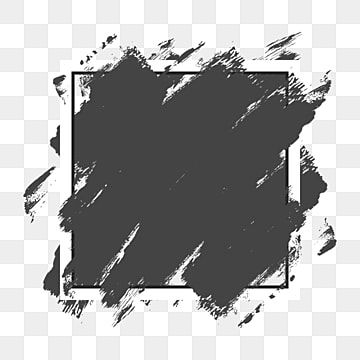 Abstract Elegant Style Grey Brush Border Vector Abstract Art Design Png And Vector With Transparent Background For Free Download Abstract Grunge Textures Art