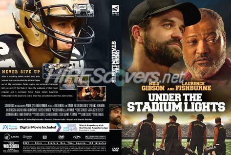 DVD Cover Custom DVD covers BluRay label movie art - DVD CUSTOM Covers - U / Under The Stadium Lights (2021)