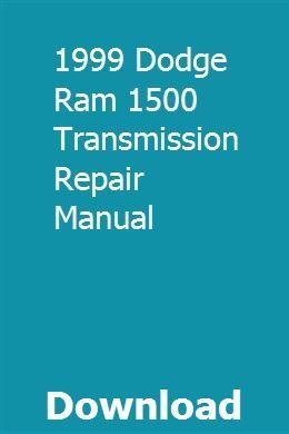 Download dodge ram 1500 repair manual.