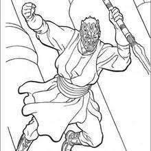 Darth Maul Coloring Page Movie Coloring Pages Star Wars