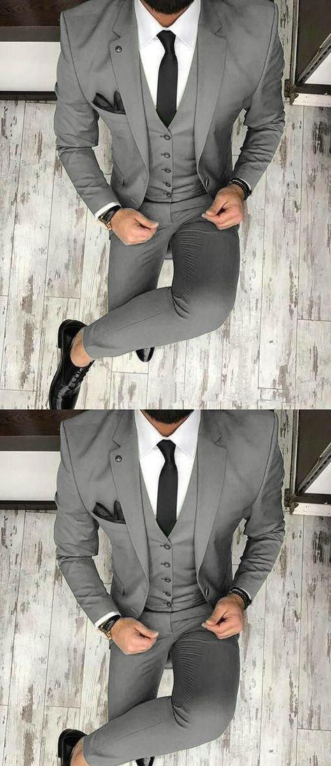 Olive /Dark green Men Blazer Prom Suit Outfits for Graduation ,Wedding Suit Three Pieces (Jacket+pants+vest)