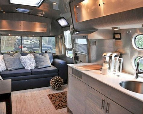 Seamless RV interior style