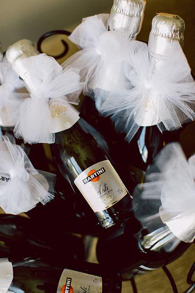 festive mini bottles! | Emily Weis #wedding