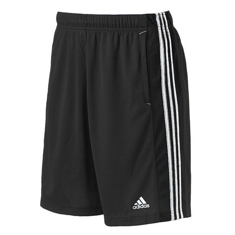 Big & Tall Adidas Essential Climalite Performance Shorts ...