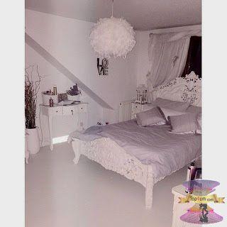 غرف نوم بنات مودرن للصبايا من احدث ديكورات غرف الفتيات المراهقات 2021 Shabby Chic Bedrooms Bedroom Interior Rooms Home Decor