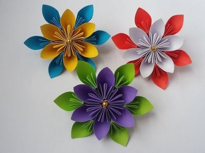 How to Make Colorful 'Fireworks' Using Origami Paper « Origami ... | 300x400