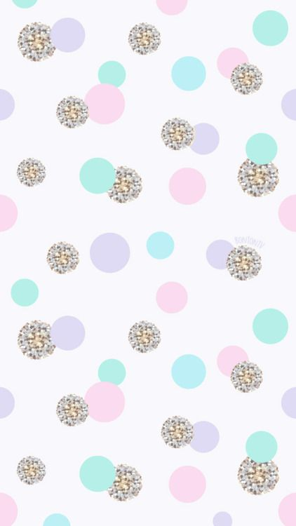 Phone Wallpapers Hd Cute Pastel And Silver Gold Polka Dots By Bonton Tv Free Backgrounds 1080x1920 Wal Polka Dots Wallpaper Dots Wallpaper Iphone Wallpaper