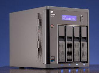 Western Digital My Cloud Dl4100 24tb Review Nas Storage Network Attached Storage Storage Devices