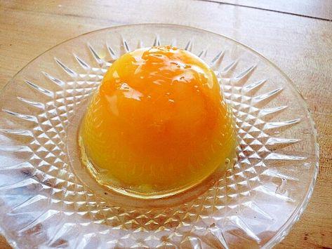 オレンジ ジュース ゼリー