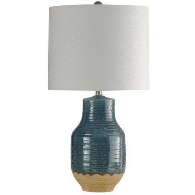Prova Ceramic Table Lamp Blue Stylecraft Adult Unisex Ceramic Table Lamps Table Lamp Blue Table Lamp
