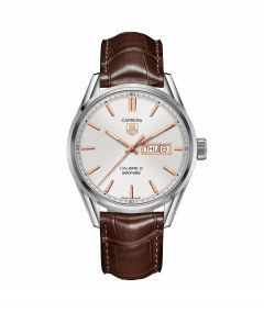 TAG Heuer Carrera Calibre 5 DD White Dial Gent Watch | WAR201D.FC6291