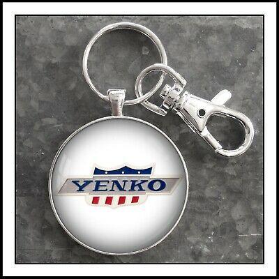 Yenko Emblem Photo Keychain Camaro Chevy Gift Key Fob Pendant