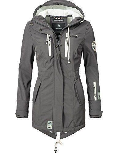 Marikoo Mountain Damen Softshell Jacke Outdoorjacke