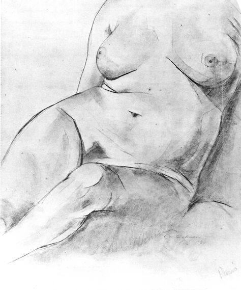 Seated Nude, 1920 (663) | Edwin Dickinson, 1891–1978