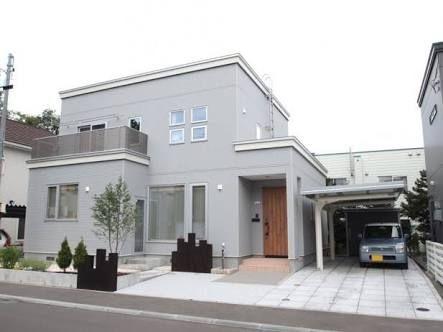 ライトグレー ガルバリウム の画像検索結果 ホームウェア 住宅
