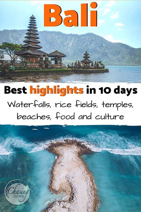 Plan your perfect Bali trip with our ultimate 10-day Bali itinerary. From Munduk in the North to the beaches of Uluwatu in the south, The coolest surf and foodie towns of Canggu and Seminyak, The best attractions around Ubud and the highlights of East Bali including Sidemen Valley. Best tips and advice for a little bit of everything - rice fields, beaches, nature, culture, food and more!