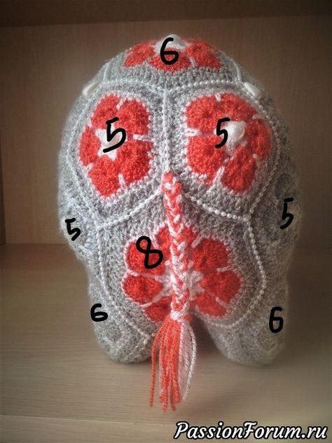 46f42366b183 Индийский слон из мотивов Схема - запись пользователя Екатерина в  сообществе Мир игрушки в категории Вязаные