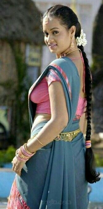 Pin On Saree Side View