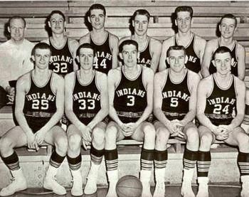 1954 Milan High School Basketball Team - inspiration for the